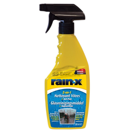 RainX 2 in 1 glasreinigingsmiddel + regenafstoter