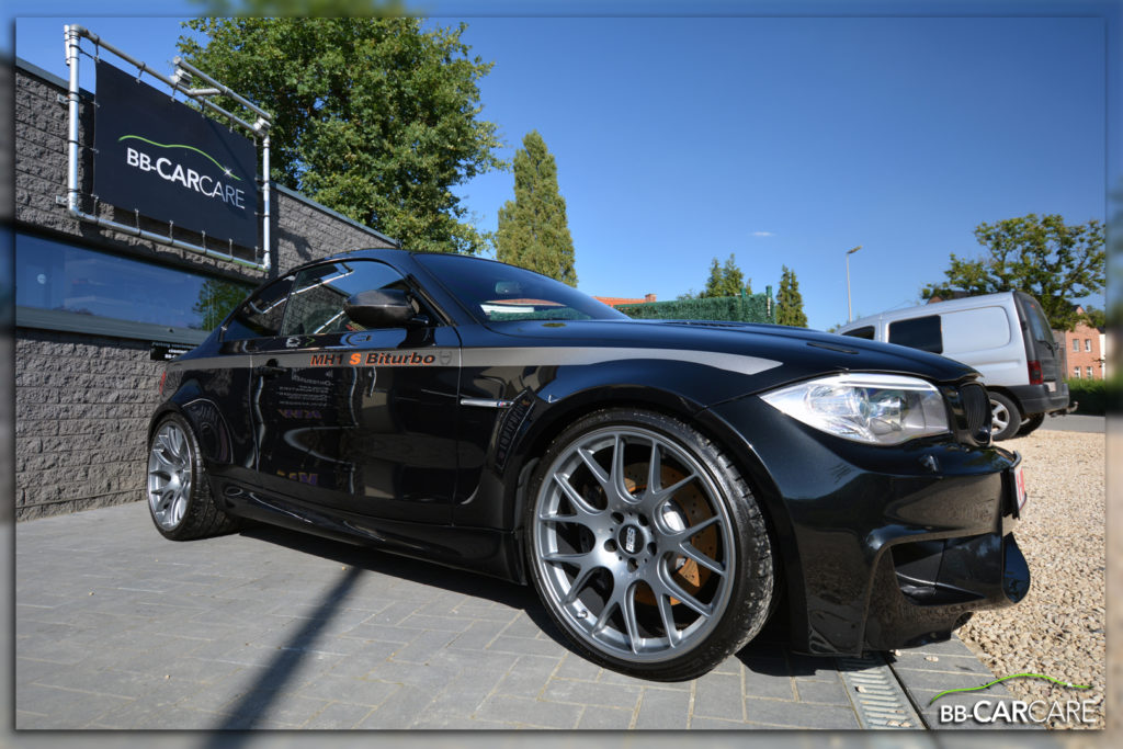 light polish pakket glans bmw 1M manhart mh1