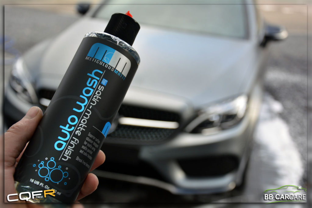 matte autowash chemical guys