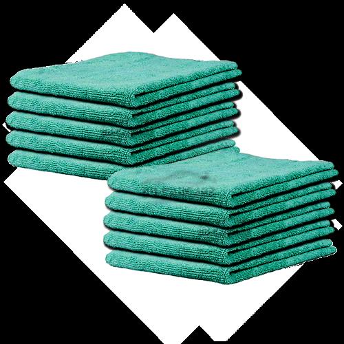 BB-microvezel groen 10-pack