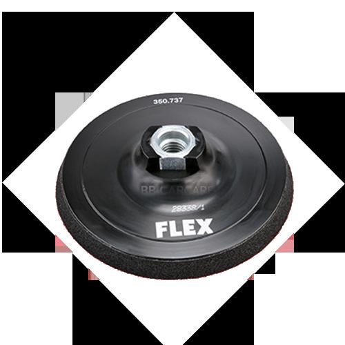 Backing plate flex 125mm