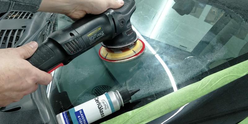 Glass polishing pad carpro