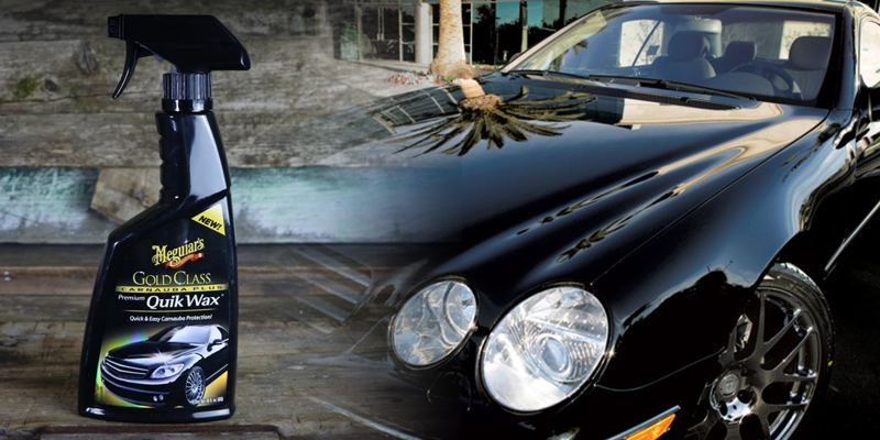meguiar's gold class high gloss quik wax