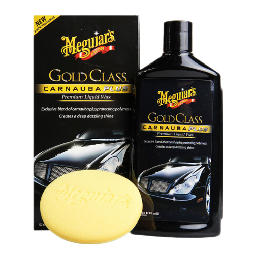 meguiar's gold class carnauba plus