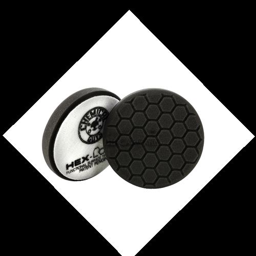 hex logic pad 4 inch zwart