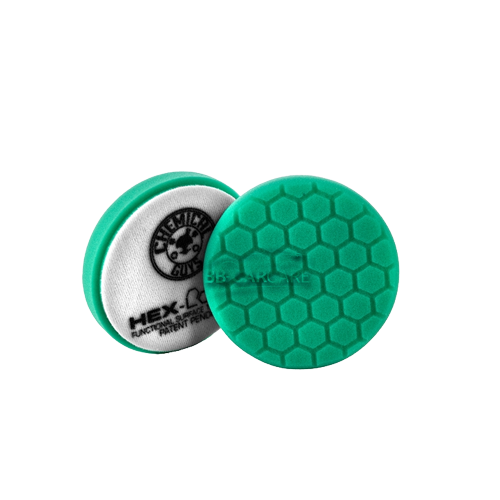 hex logic pad 4 inch groen