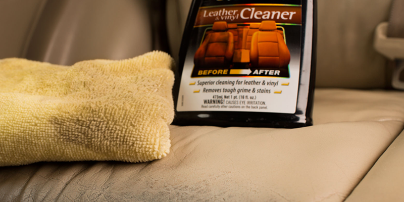meguiar's gold class leather cleaner