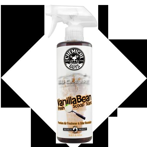 chemical guys vanilla bean scent