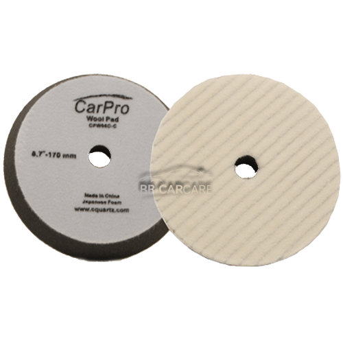 wool ring pad carpro heavy cutting