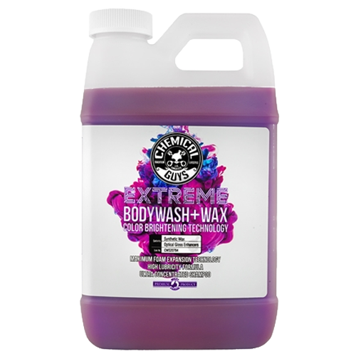 chemical guys extreme bodywash + wax