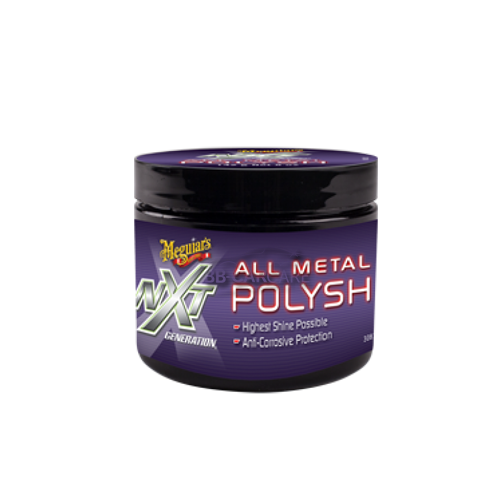 meguiar's NXT all metal polysh