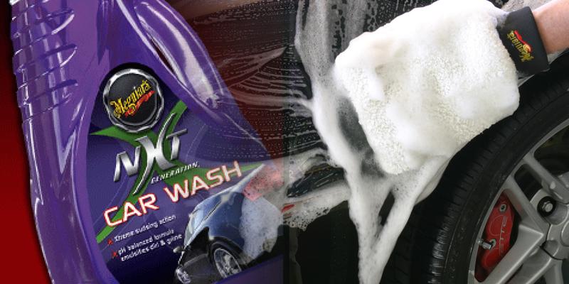 Meguiar's NXT car wash