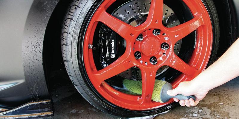 ultra safe wheel spoke brush