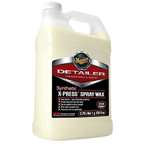 meguiar's x-press spray wax